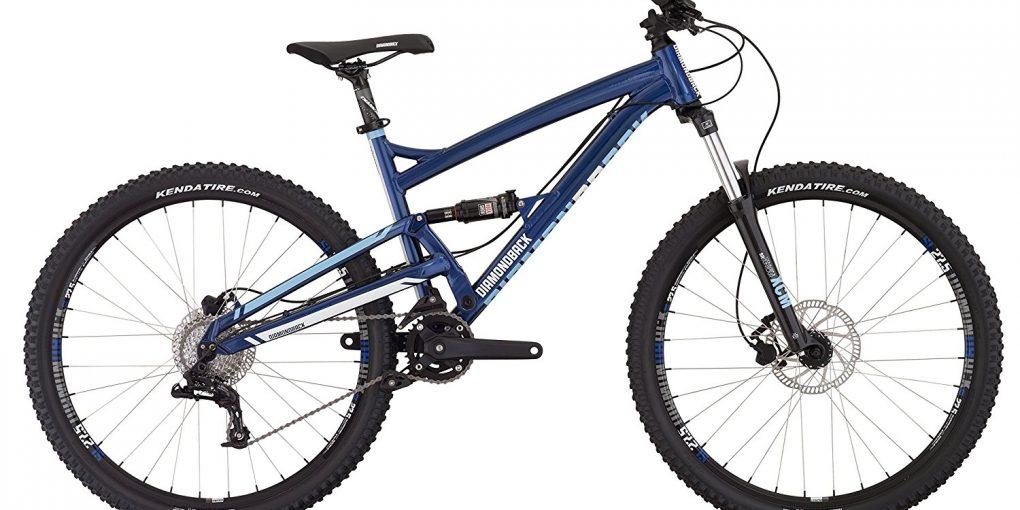 Diamondback Bicycles Atroz Complete Full Suspension Mountain Bike