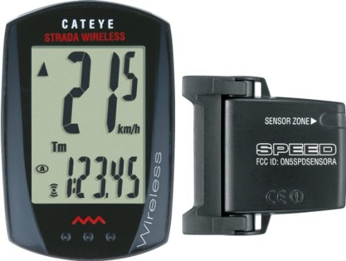 CatEye Strada Wireless Bicycle Computer (Black) CC-RD300W