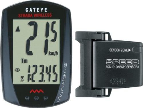 CatEye Strada Wireless Bicycle Computer (Black) CC-RD300W