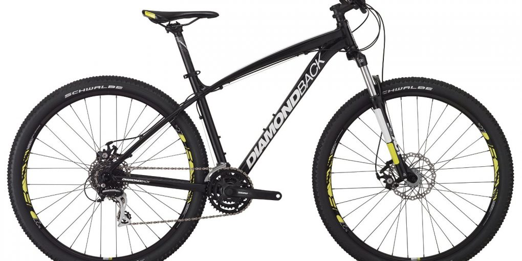 Diamondback Overdrive 29 Hardtail Mountain Bike (Black)