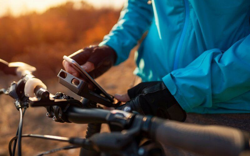 Mountain Bike Phone Mount
