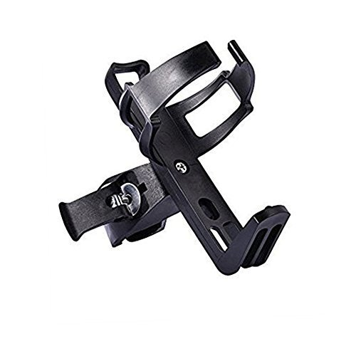 Bike Water Bottle Cage - Bike Water Bottle Holder No Screws All-Steel Materials Plastic Water Bottle Cage for Road Mountain Bicycle Cycling Biking (1pack)