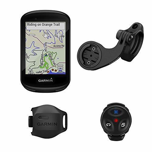 Garmin Edge 830 Mountain Bike Bundle, Performance Touchscreen GPS Cycling/Bike Computer with Mapping, Dynamic Performance Monitoring and Popularity Routing, Includes Speed Sensor & Mountain Bike Mount