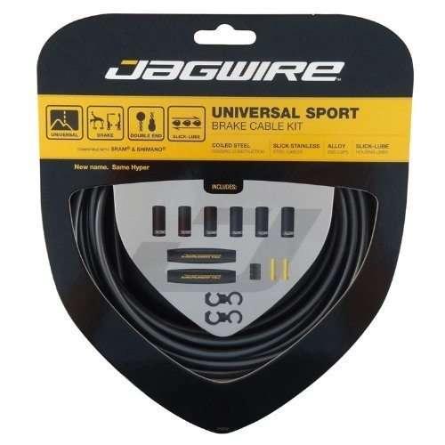 Jagwire Universal Sport Brake Kit (Hyper), Black