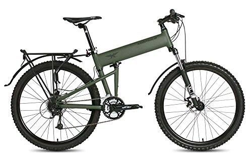 "Montague Paratrooper 24 Speed Folding Mountain Bike Medium - 18"""