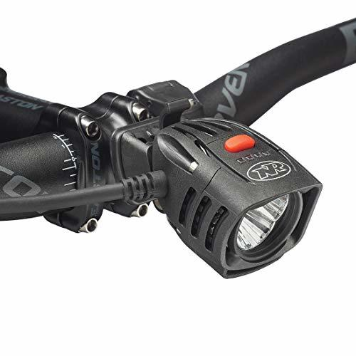 NiteRider Pro 1800 Race, High Performance Lightweight MTB Race Bike Light, 1800 Lumens of Max Output. Durable Bicycle Front Light. Excellent MTB Beam Pattern