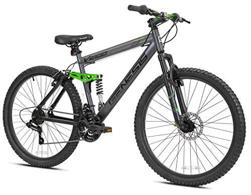 Genesis V2100 Men's Dual Suspension Mountain Bike