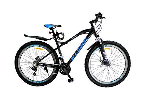 Blackburn Mountain Bike 29 inch Aluminium Mountain Bike 21 Speed Disc Brake (Black-Blue)