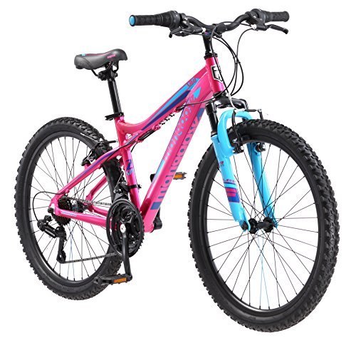 Best for Girls - Mongoose Silva Mountain Bike For Women and Girls with 24-Inch Wheels